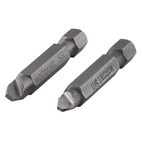 wolfcraft 2982000 2 Screw Removers by Wolfcraft