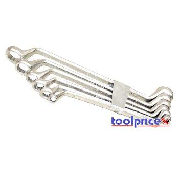 6 Pc Offset Box Wrench Set - SAE