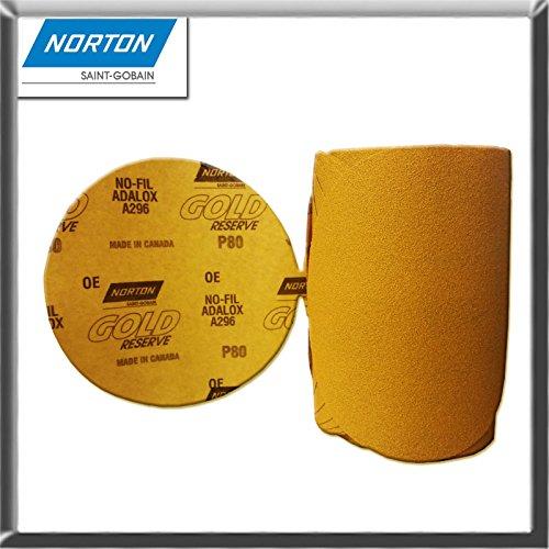 Norton 662611-83815 Gold Reserve 6 P80B PSA Disc Roll 100 DiscsRoll