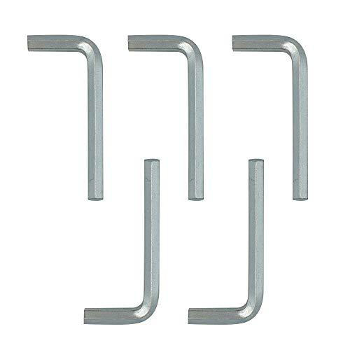 HONJIE 6mm Hex Key Wrench L Shaped Hexagon Head Repairing Tool 10pcs