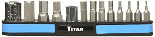 Titan TIT16112 Metric Hex Bit Set 13 Piece 13 Piece Metric Hex Bit Set
