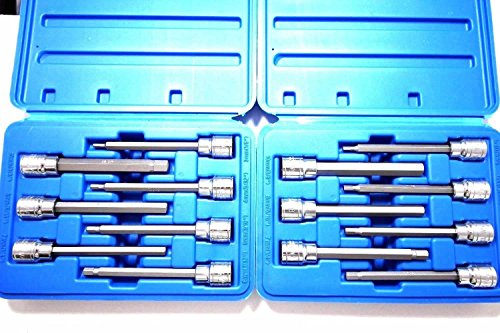 14 Pc Extra Long Hex Bit Sockets Allen Wrench Mmsae