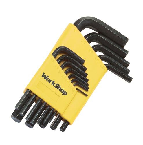 WorkShop 82526RP Short Arm Hex Key Wrench Set 13-Piece