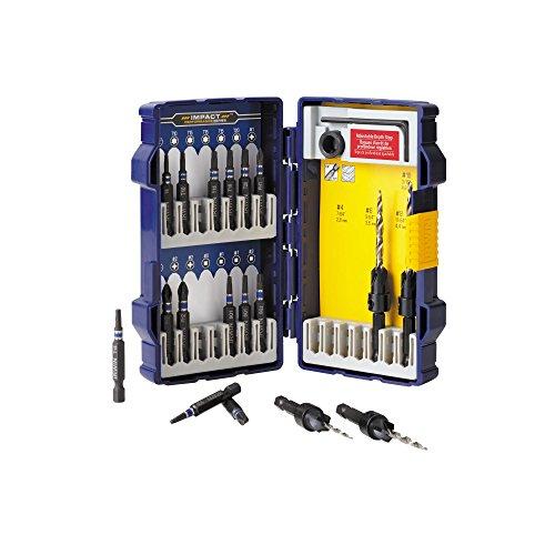 Irwin Tools 1890451 Countersink Wood Drill Bit Set 19-Piece