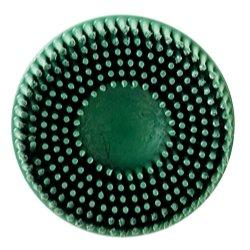 2 Scotch-Brite Roloc Bristle Discs 50 Grit Coarse Green Tools Equipment Hand Tools