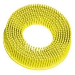 3 Scotch-Brite Roloc Bristle Discs 80 Grit Medium Yellow Tools Equipment Hand Tools