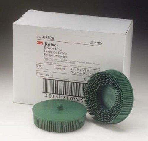 3M 07526 Roloc Bristle Disc Green