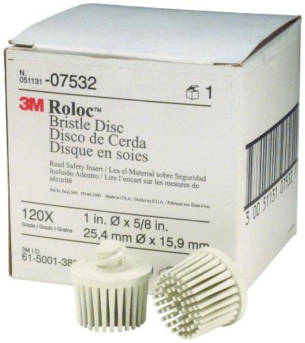 3M 07532 Roloc Bristle Disc White