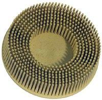 3M 3 Inch Roloc Bristle Disc Medium 80 Grit Yellow