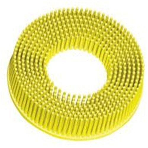 3M Roloc Bristle Disc Yellow 2 Diameter Grade 80 Grit Industrial Parts House