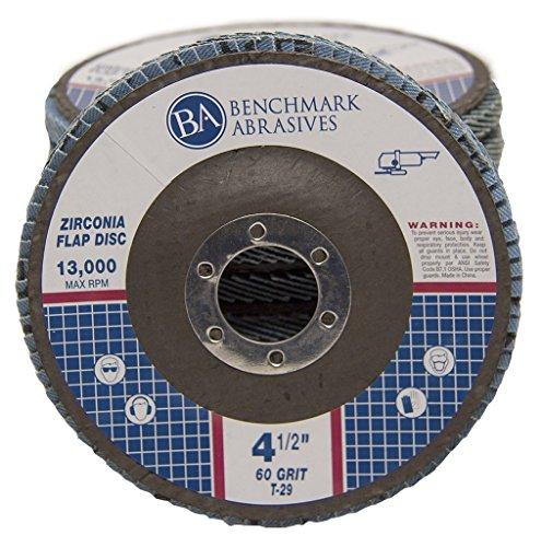 45 x 78 Premium Zirconia Flap Disc Grinding Wheel 60 Grit Type29 - 10 Pack