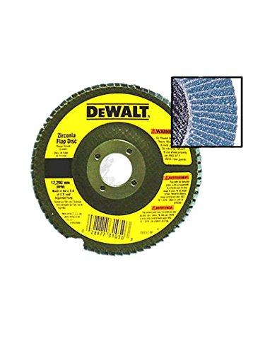 Dewalt Dw8310 4-12 Inch X 78 Inch 120 Grit Zirconia Flap DiscSold By 2 Pack by DEWALT