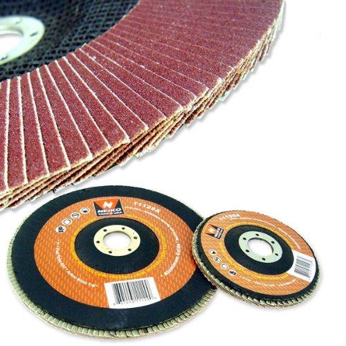 20 45 80 Grit Flap Disc Aluminum Oxide Neiko Grinding Wheels