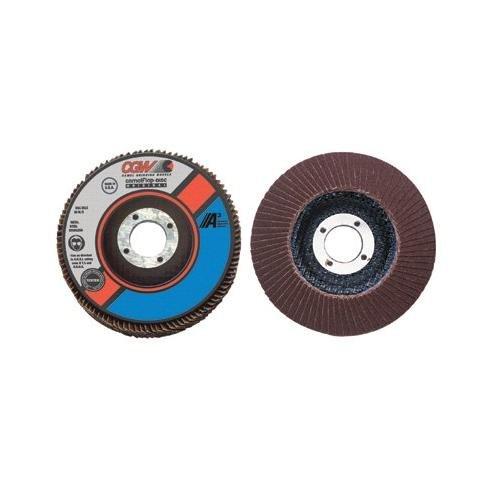 CGW Abrasives 421-39435 4-12X58-11 T29 A CUBED REG 80 GRIT FLAP DISC