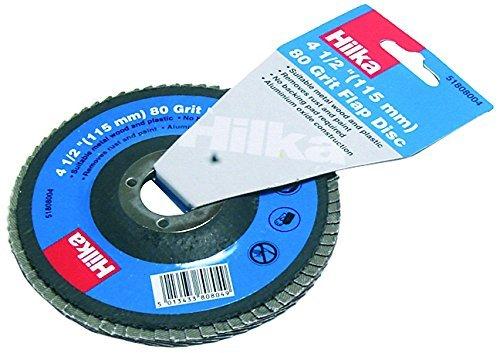 Hilka 51808004 115mm 80-Grit Flap Disc by Hilka