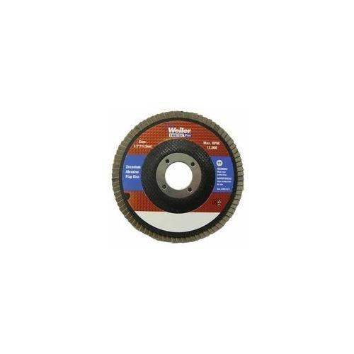 Weiler 804-31333 Vortec Pro Zirconia Alumina Type 29 Flap Disc 60 Grit 58-11 UNC 8600 rpm 7