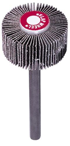 A&H Abrasives 100829 10-pack Misc Flapwheel 1x1x14 Aluminum Oxide 120 Grit Flap Wheel