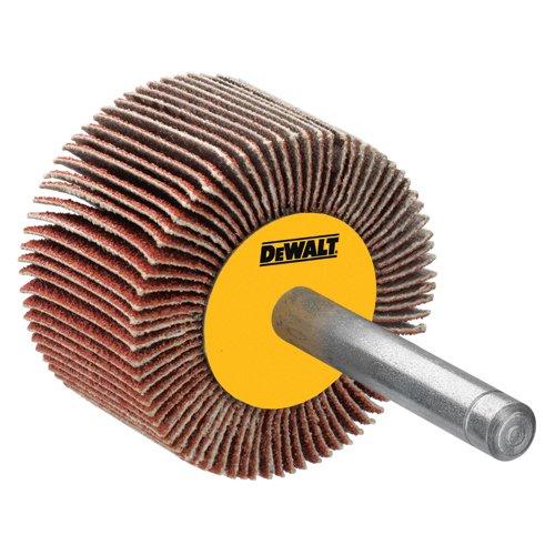 DEWALT DAFE1A1210 1-Inch by 12-Inch by 14-Inch High Performance 120 Grit Flap Wheel