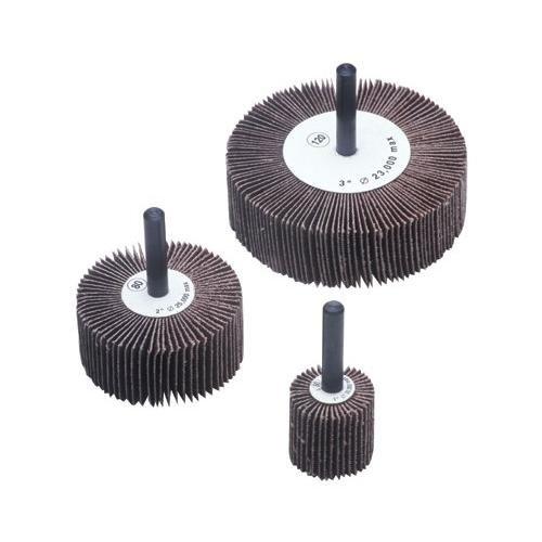 Flap Wheels - 1-12x1x14-20 alum oxide 120 grit flap wheel