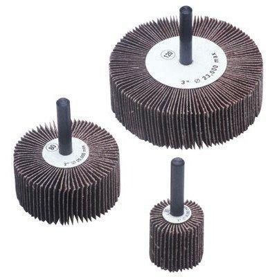 Flap Wheels - 1x1x14 alum oxide 120 grit flap wheel Set of 10