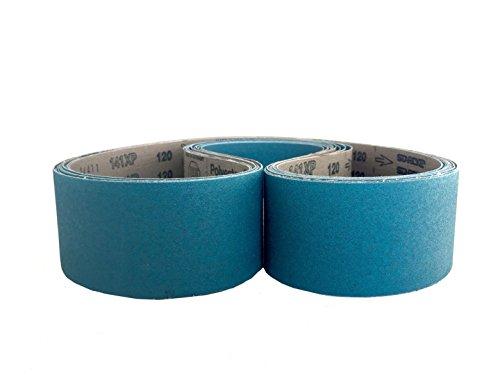 Sanding Belts 2 X 60 Zirconia Cloth Sander Belts 6 Pack 60 Grit
