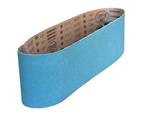 Sanding Belts 6 X 48 Zirconia Cloth Sander Belts 2 Pack 40 Grit