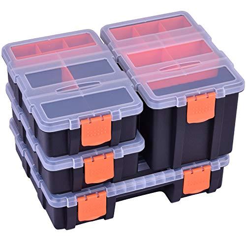 Tool Organizer Tackle Box Storage For Small PartsScrewHardwarePlastic