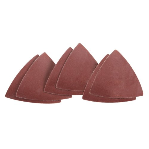240 Grit Multi-Tool Triangle Sandpaper 6 Pc For Wood
