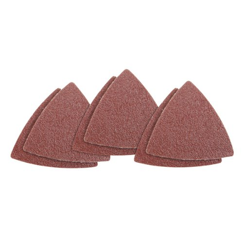 60 Grit Multi-Tool Triangle Sandpaper 6 Pc For Wood