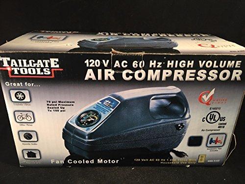 Tailgate Tools 120V AC 60Hz High Volume Air Compressor Model W-2020