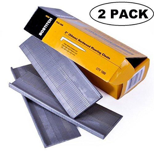 2 PACK BOSTITCH FLN-200 2-Inch Flooring L-Nail 1000-Per Box