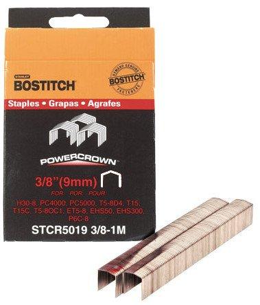 Stanley Bostitch STCR5019-38-1M 38-Inch Staple 1000-Pack