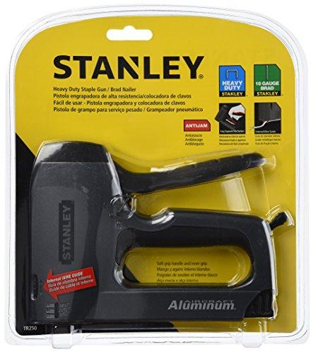 Stanley TR250 SharpShooter Plus Heavy-Duty StapleBrad Nail Gun