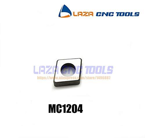 FINCOS MC1204SC120410pcs Turning tool holder shimCarbide ShimTurning tool spare parts accossoriesAlloy shim for CNC lathe machine