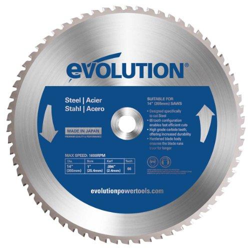 Evolution Power Tools 14BLADEST Steel Cutting Saw Blade 14-Inch x 66-Tooth