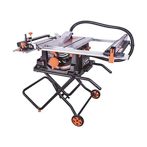 Evolution Power Tools RAGE5S 10 TCT Multi-Material Table Saw 10 Orange