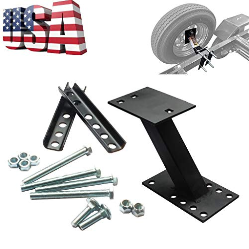 Shipping from USAutomotive Repair ToolsSpare Tire Carrier Wheel Mount Holder Fits 4 and 5 Lug Wheel Rack Bracket