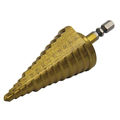 HSS Titanium Step Drill Bits Set Metric Sizes Bits