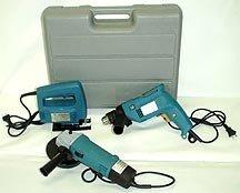 3 Pcs Electric Tool Kit - DrillGrinderJigsaw