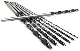 Newgood quality Tools 7pc 12-Long HSS BRAD POINT WOOD DRILL BIT SET 18 316 14 516 38 716 12