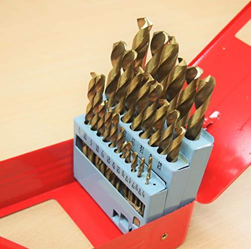 29PC HSS Drill Bits Set 116 to 12