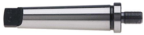 2 Morse Taper to 12-20 Threaded Drill Chuck Arbor