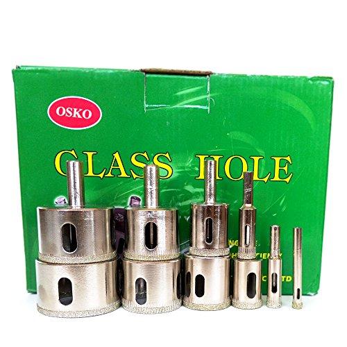 Osko LOT 10 Pcs SET Diamond Hole Saw Drill Bit Set 14 38 12 34 1 1 14 1 38 1 12 1 34 2
