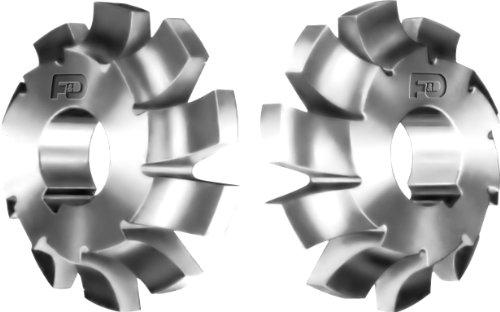F&D Tool Company 12430-C332L Corner Rounding Cutters 34  Radius 425 Diameter 1125 Width 125 Hole Size
