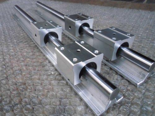 2x SBR20-1895m 20mm Fully Supported Linear Rail  4 SBR20UU BlockbEARING