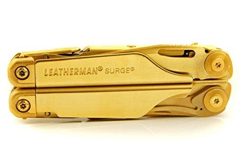 TxTC Custom Tools - Surge Multi-Tool Golden Eagle Edition with 24k Gold Finish