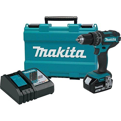 Makita XPH102 18V LXT Lithium-Ion Cordless 12 Hammer Driver-Drill Kit 30Ah