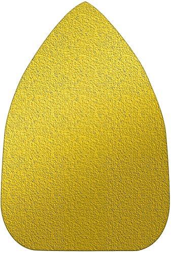A&H Abrasives 106262 Multi Tool Sanding Shapes Black Decker Mouse H&l Mouse Shape H&L Aluminum Oxide 80 Grit 25 Each