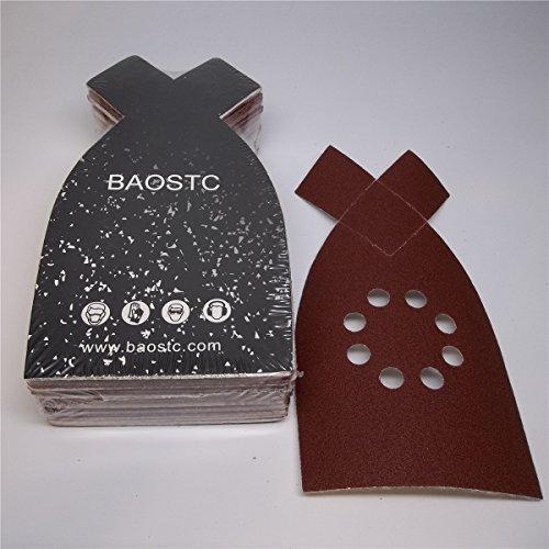 BAOSTC 4-148 P60 velcro sanding disc for BLACK&DECKER mouse sander 50PACK