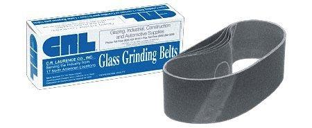 CRL CRL3X21220X 3 x 21 220X Grit Glass Grinding Belts for Portable Sanders - 10Bx